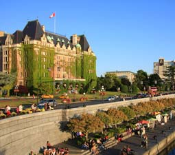 The Beautiful Empress Hotel, Inner Harbour Victoria BC