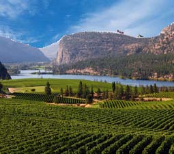 Views of the Okanagan Valley BC