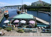 Sit by the harbour in Nanaimo BC and enjoy some fine Fish and Chips