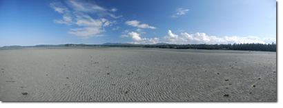 Rathtrevor Beach at low tide