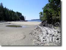 Tonquin Beach Vacation Cabin Accommodation Vancouver Island British Columbia