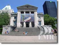 Vancouver Art Museum Holiday Cabin Rental Vancouver British Columbia