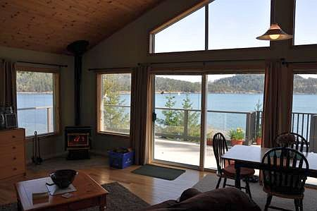 Cottage Views from the Living Room