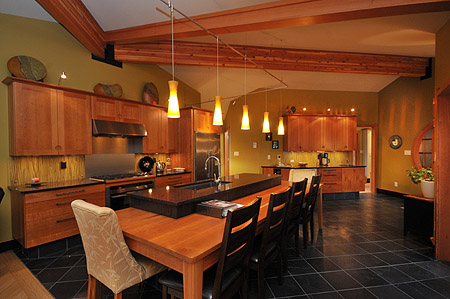 A beautiful and well appointed kitchen