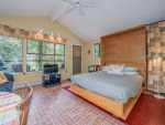 Lakeside water lilies.