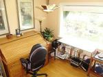 Nice office area with high speed internet access.