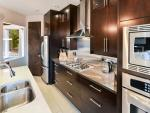 Spectacular executive and modern kitchen.