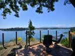 Oceanfront Escape - 3 BR with Spectacular Ocean and Mountain Views Sidney BC accommodations