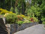 Nicely terraced gardens to enjoy