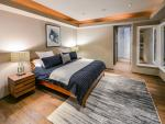 Master bedroom with King bed with private access to patio.