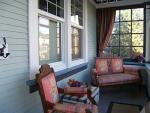 Take advantage of the old style front porch.